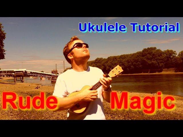 Rude - Magic (Ukulele Tutorial) - YouTube