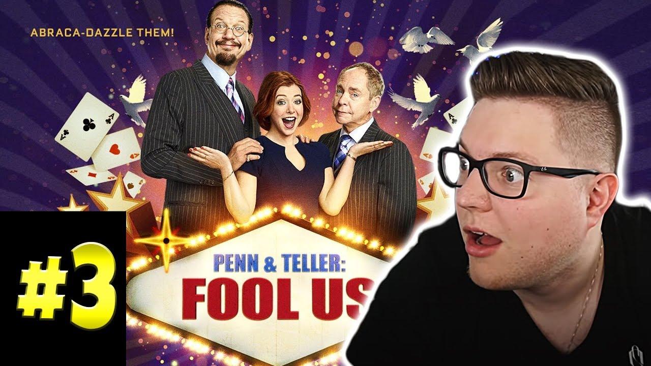 Zauberer reagiert LIVE auf Penn & Teller - Fool Us (Staffel 7 Episode 3)
