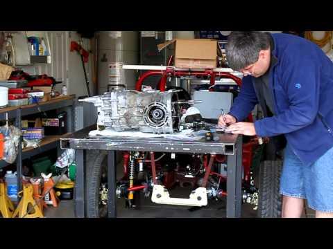 002 VW transaxle rebuild part 2 - major disassembly