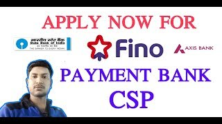 OPEN FINO PAYMENT BANK CSP IN 6 DAYS