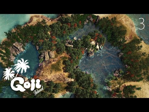 NATURAL POOLS - Cities Skylines: Goji island - ep.3