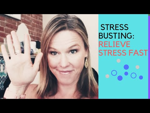 10 STRESS BUSTING TIPS (How to relieve stress fast)