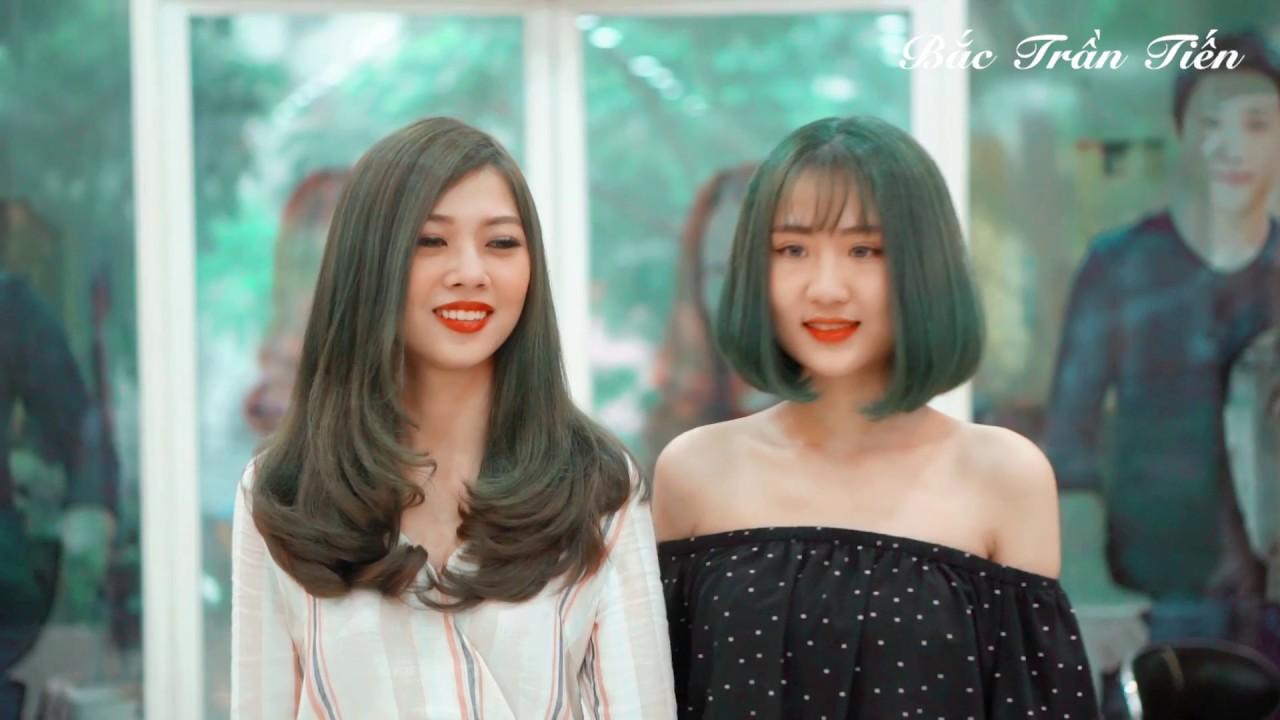 Hai mẫu tóc của Bắc Trần Tiến