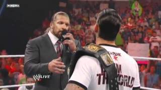 NEROSMEDIA: WWE RAW 1.8.11 -  CM Punk & Triple H Pipebomb Shoot