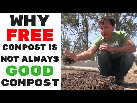 Why Free Compost May Not Always Be Good Compost