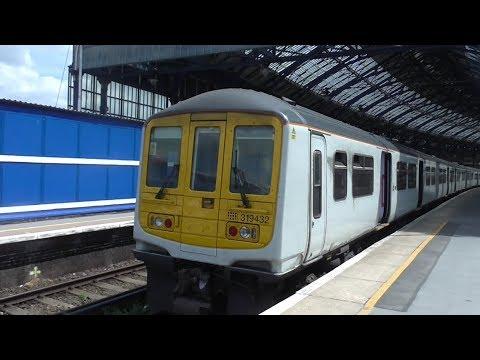 Thameslink Class 319 Rides: Brighton to East Croydon (Fast via Quarry Line) - 15th & 17th July 2017