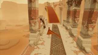 Journey PSN PS4 Game Threshold Trophy Guide with Commentary