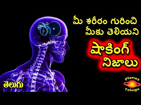 Unknown Real Facts about Human Body in Telugu I PLANET TELUGU