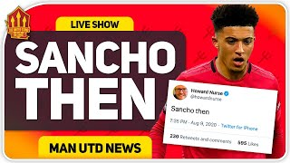 SANCHO THEN! Transfer Hint Dropped! Man Utd Transfer News