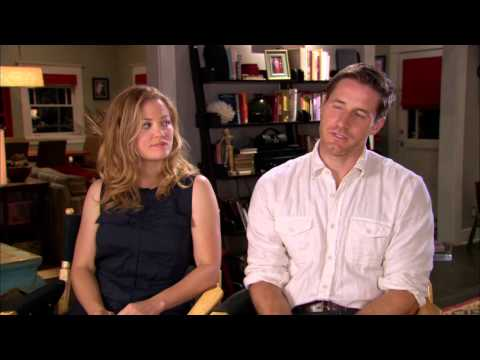 "Parenthood Season 5: Erika Christensen & Sam Jaeger ""Julia & Joel Graham"" On Set Interview"