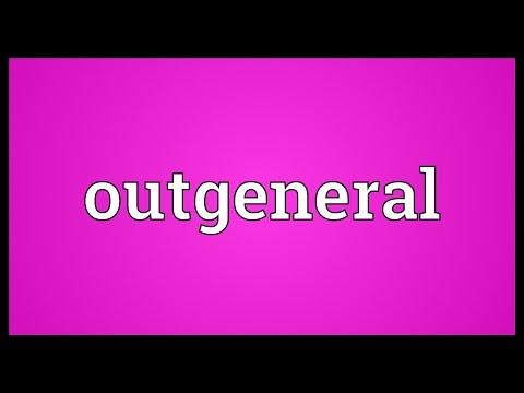 Header of outgeneral