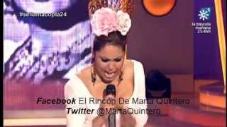 Marta Quintero Capote De Grana Y Oro
