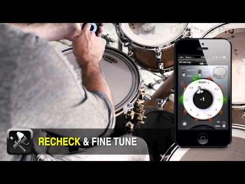 Drum tuning with Drumtune PRO -LUG TUNER MODE BASICS