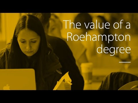 The value of a Roehampton degree