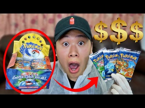 OPENING $3000 POKEMON BASE SET BOOSTER BOX (GREATEST PACKS OF ALL TIME!!)