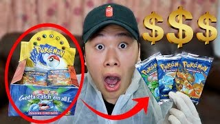 OPENING $3000 POKEMON BASE SET BOOSTER BOX (GREATEST PACKS OF ALL TIME!!) thumbnail