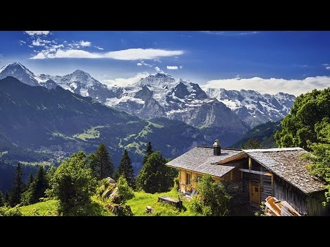 GRINDELWALD - Un lugar con hermosos paisajes en Suiza