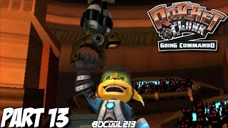 RATCHET & CLANK GOING COMMANDO GAMEPLAY WALKTHROUGH PART 13 THE IMPOSSIBLE CHALLENGE - PS2 LETS PLAY