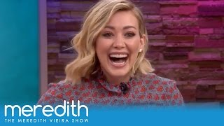 """Hilary Duff & Sutton Foster Play """"Sketchy Business!""""   The Meredith Vieira Show"""