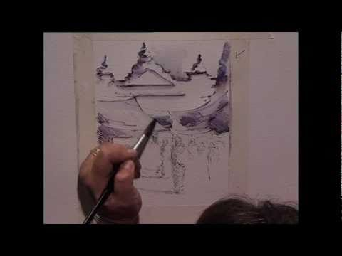 The Pen & Wash Course with Margaret Evans, Part 1