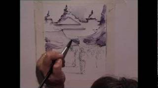 Preview | Drawing with Pen & Wash with Margaret Evans, Part 1