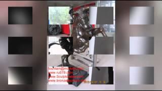 Bronze Mailbox Statues