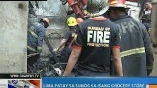 NTG: 5 katao, patay sa sunog sa Tondo, Manila
