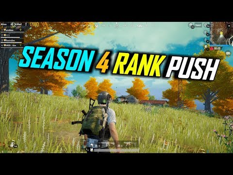 PUBG MOBILE RANK PUSHING TO CONQUEROR LETS GO