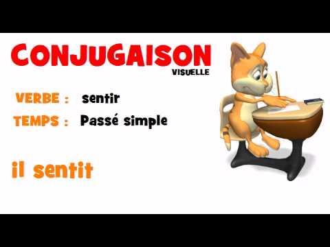 Conjugaison Sentir Passe Simple Youtube