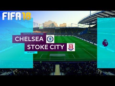 FIFA 18 - Chelsea vs. Stoke City @ Stamford Bridge