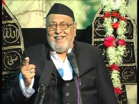 Maulana Mirza Mohammed Athar, Majlis 3, Mahe Moharram 2012/2013, Venue = Mogul Masjid (Mumbai)