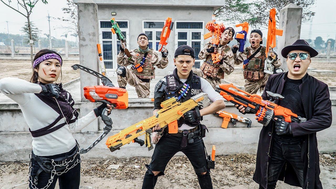 LTT Nerf War : Captain SPY 001 SEAL X Warriors Nerf Guns Fight Dr Ken Crazy Dangerous Battlefield