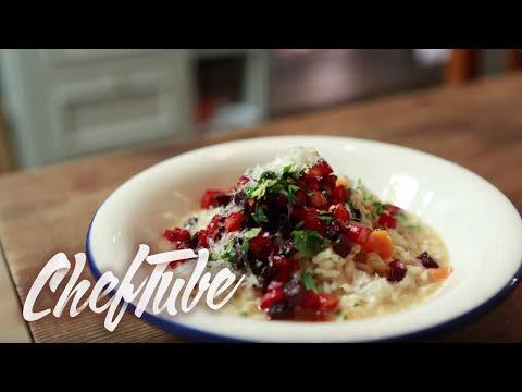 comment-faire-un-risotto-aux-petits-légumes---recette-dans-la-description