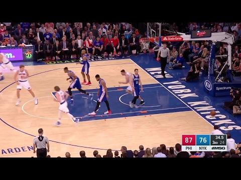 Quarter 3 One Box Video :Knicks Vs. 76ers, 4/12/2017 12:00:00 AM