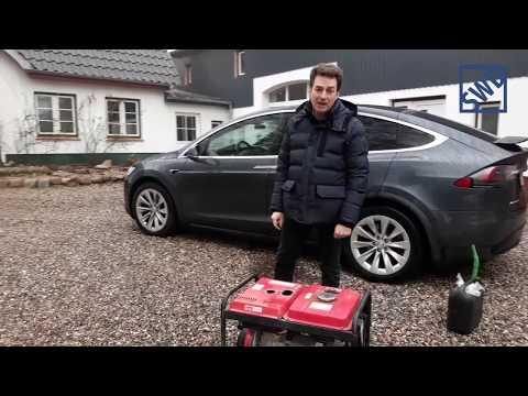 NEU! Tesla Model X Diesel, 9,3 Liter Diesel auf 100 Kilometer ;-)