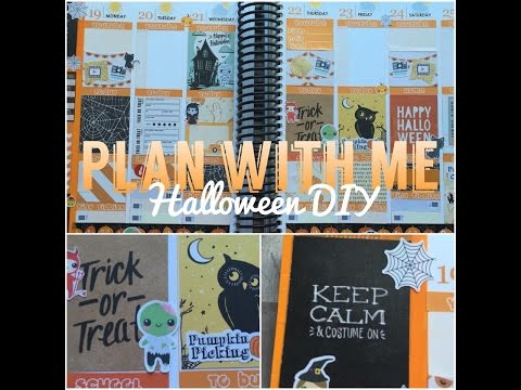 Plan with Me on a Budget!! ~ DIY Idea!
