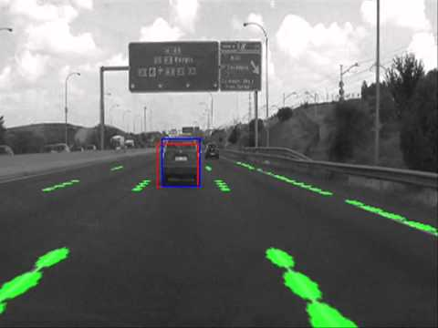 Real-time lane marking detection and vehicle tracking (single camera)