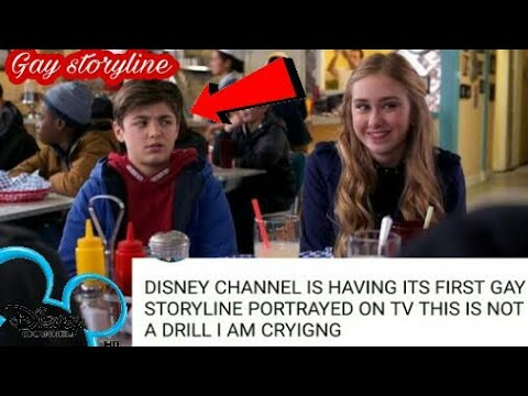 First GAY storyline on Disney channel it's wrong things for kids!!