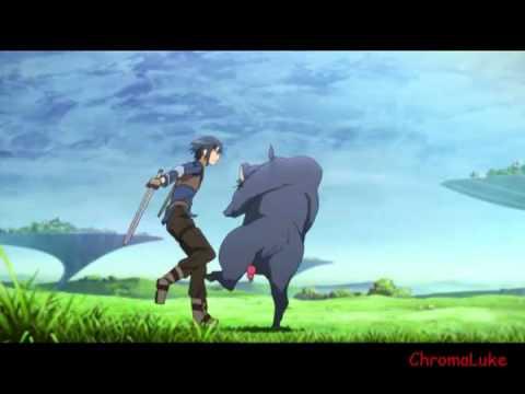 Sword art online klein s derp scene youtube