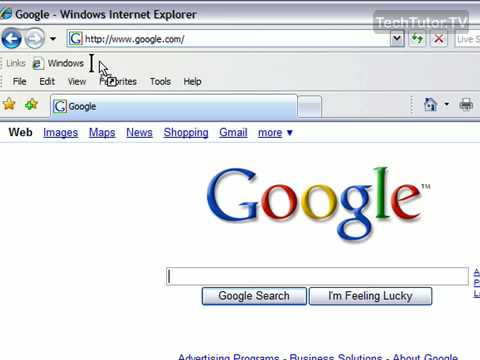 Add Links to the Links Toolbar in Internet Explorer 7