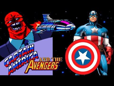 Captain America and The Avengers прохождение (Sega Mega Drive, Genesis)