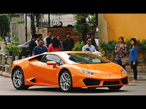 Lamborghini Huracan LP580-2 Says Hi to Bangalore!