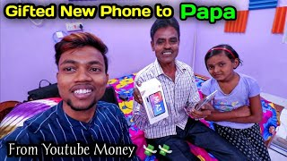 I Gifted My Father a New Phone From My Youtube Money