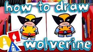 How To Draw Cartoon Wolverine