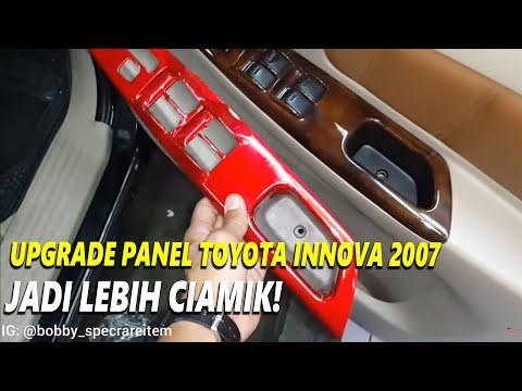 Toyota Innova 2007 UPGRADE Wood Panel Innova Luxury dan Stir Innova Reborn tipe G 2017