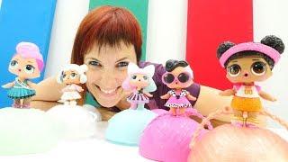Тетя Маша и куклы Лол - Маша Капуки - Английский для детей