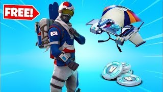 How to get *FREE* Alpine Ace Korea Set + *VBUCKS* (FORTNITE BATTLE ROYALE) *AFTER UPDATE*