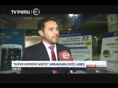 "Metropolitano: ""Super Expreso Norte"" arrancará este lunes"