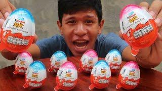 อดข้าว24ชั่วโมงกินไข่ช็อกโกแลต10ฟอง!!