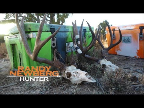 How To Keep Ice In Your Cooler - Randy Newberg, Hunter